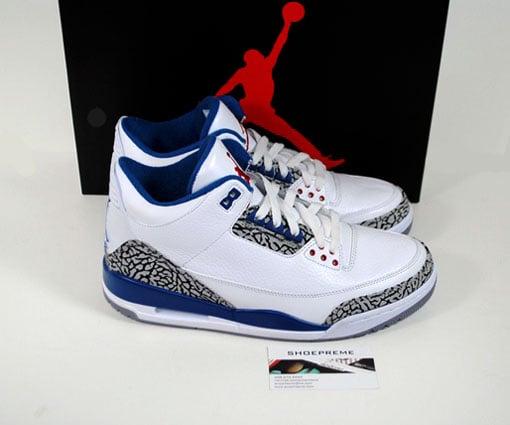Air Jordan III (3) Retro 'True Blue