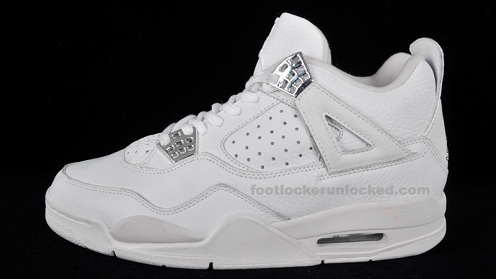 "A Look Back: Air Jordan Retro IV White/White-Chrome ""No Mesh"""