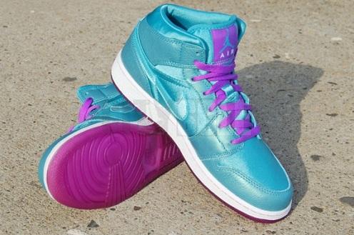 Air Jordan I Phat Hi (GS) - Mineral Blue/Copa-Bright Violet