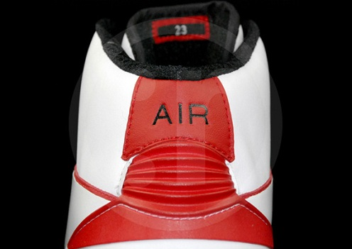 Air Jordan II (2) Max White/Black-Varsity Red - A Closer Look