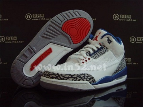 "Air Jordan Retro III (3) ""True Blue"" 2011 - New Images"