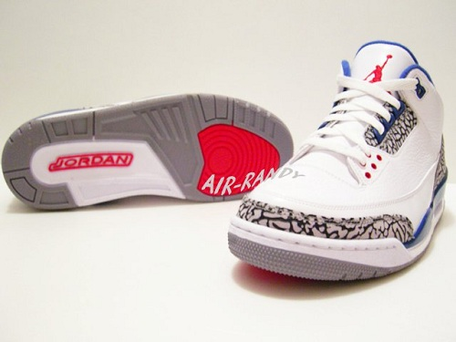 "Air Jordan Retro III (3) ""True Blue"" - New Images"