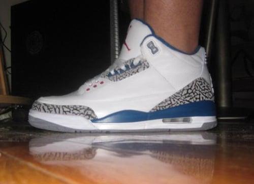 "Air Jordan Retro III ""True Blue"" 2011 Edition - Sneak Peek"