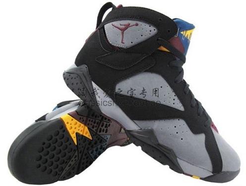 """Air Jordan Retro VII (7) """"Bordeaux"""" - Detailed Images"""