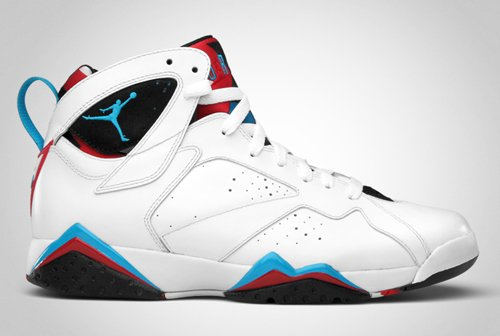 new style 30d0f f0295 Air Jordan Retro VII (7) White/Orion Blue-Black-Infrared ...