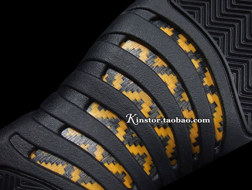 "Air Jordan Retro XII (12) Low ""Taxi"" - New Detailed Images"