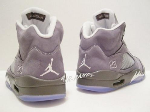 "Air Jordan V (5) ""Wolf Grey"" - New Images"
