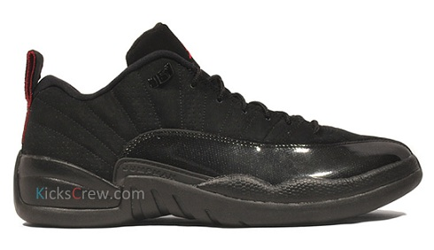 Air Jordan XII (12) Low Black/Red - New Images