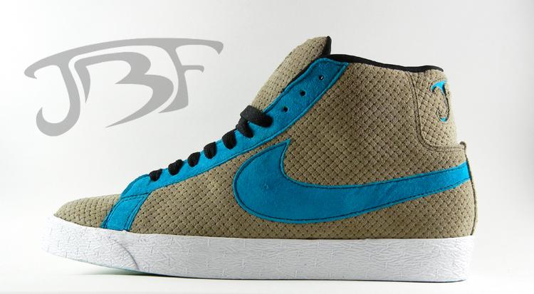 Nike SB Blazer High -  Hypho  Custom by JBF  870287551b03