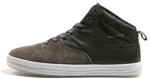 Gourmet Quattro Skate - Dark Grey/White