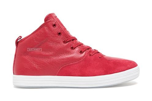 Gourmet Quattro Skate - Red/White