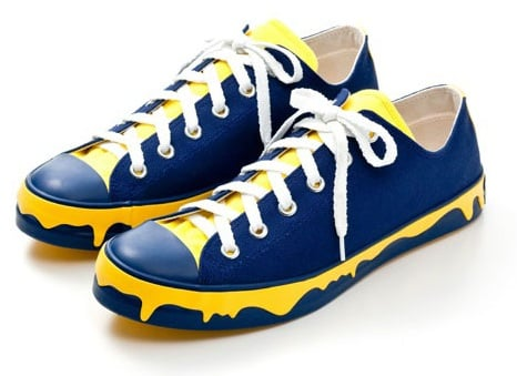 Ice Cream Drippy Sneaker Low - Royal/Yellow