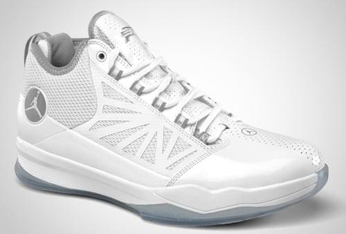 Jordan CP3.IV White/Metallic Silver