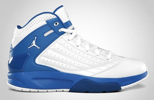 Jordan F2F - White/Varsity Royal