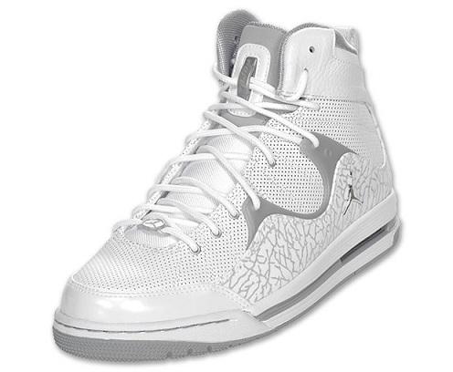 Jordan Hoop TR '97 - White/Silver-Wolf Grey