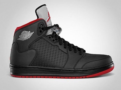 Jordan Prime 5 - Black/Varsity Red-Metallic Silver
