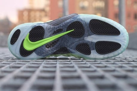 "Nike Air Foamposite Pro ""Electric Green"" @ WEST NYC"