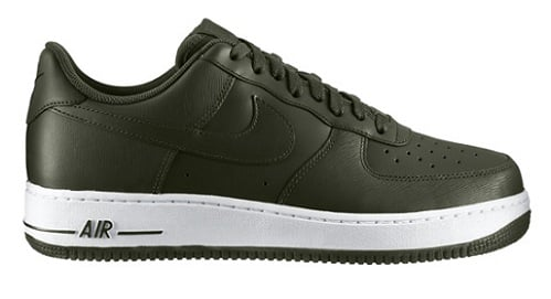Nike Air Force 1 Low - Bog Green/White