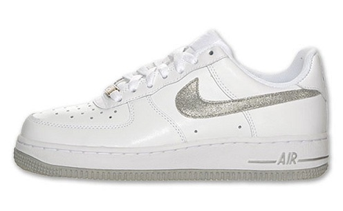 Nike Air Force 1 Low - White/Metallic Silver