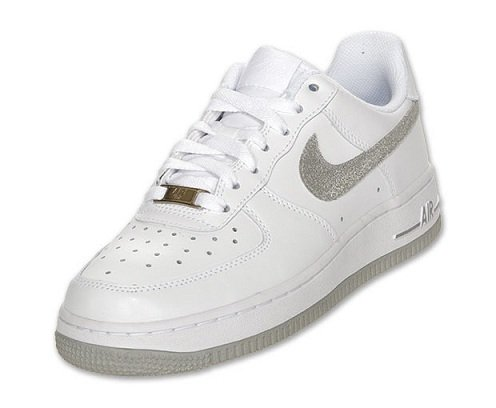 nike air force 1 low silver