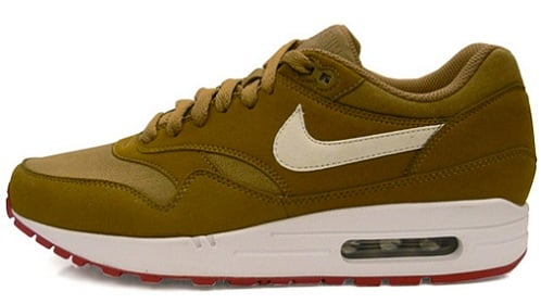 Nike Air Max 1 - Brown Kelp/White