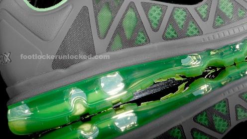 Nike Air Max 2011 - Cool Grey/Green