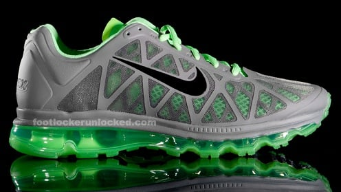Nike Air Max 2011 - Cool Grey/Green