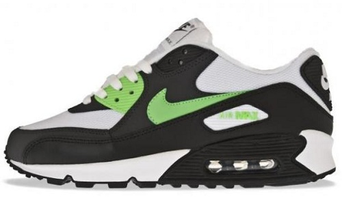 Nike Air Max 90 - Black/Lime/White