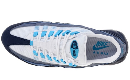 Nike Air Max 95 - Obsidian/White/Blue
