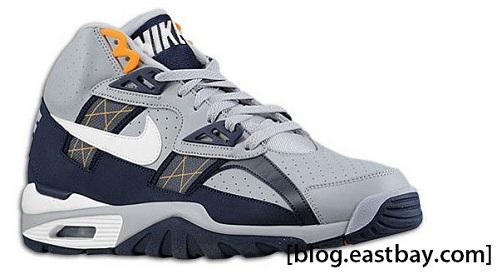 Nike Air Trainer SC - Grey/Obsidian/Circuit Orange