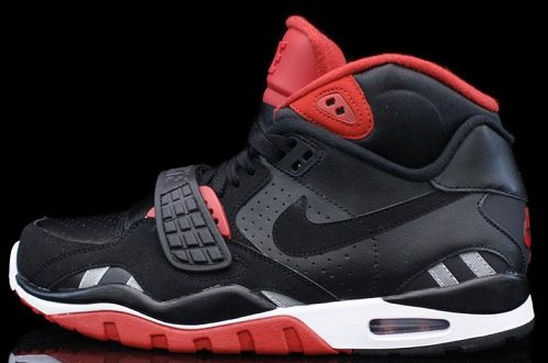 Nike Air Trainer SC II - Black/Black-Varsity Red