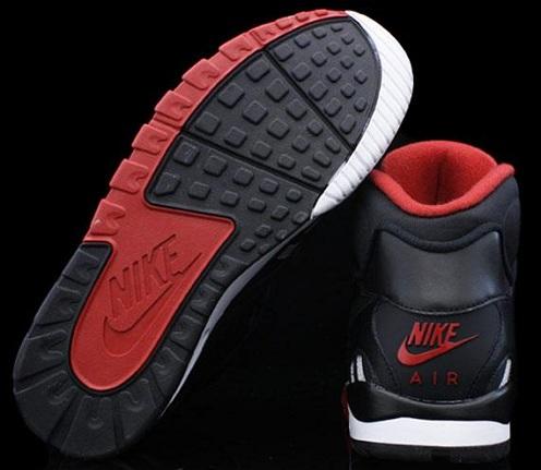 Nike Air Trainer SC II - Black/Black-Varsity Red