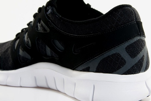 Nike Free Run+ 2 - Black/White