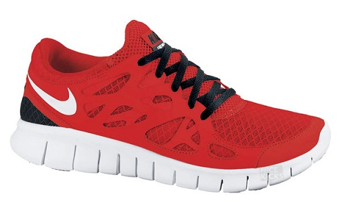Nike Free Run+ 2 - Challenge Red/White-Black