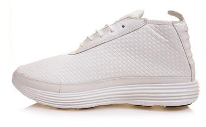 Nike Lunar Chukka Woven - White/White