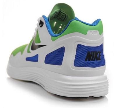 Nike Lunar Flow - White/Green/Blue