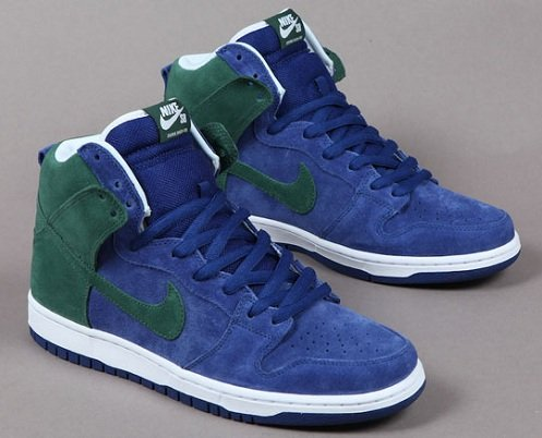 Nike SB Dunk High - Deep Royal/Noble Green