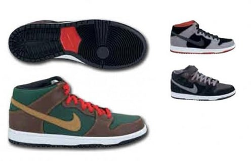 Nike SB Dunk Mid - Holiday 2011