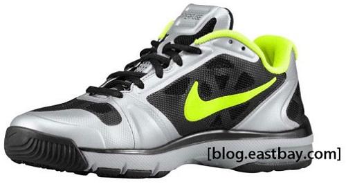 Nike Vapor TR Max - Black/Volt-Metallic Silver