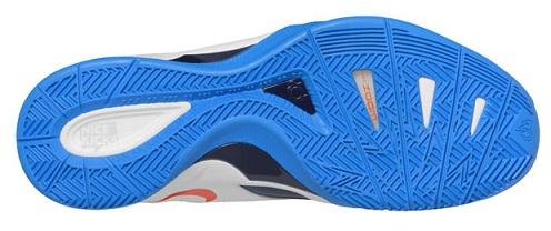 Nike Zoom KD III - White/White-Team Orange-Photo Blue