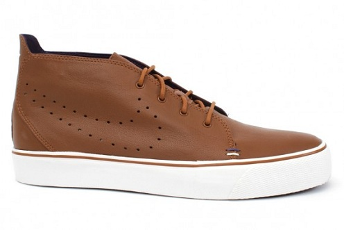 Nike Zoom Toki - Brown Leather/White