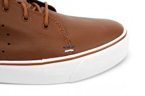 Nike Zoom Toki - Brown Leather/White
