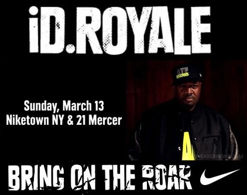 Nike iD 2011 Royale Design Contest