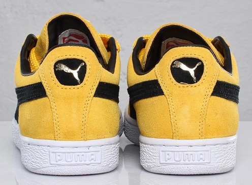 Puma Suede Classic - Yellow/Black/White