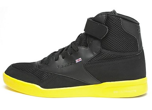 Reebok Ex-O-Fit Plus Hi Ultralite - Black/Yellow