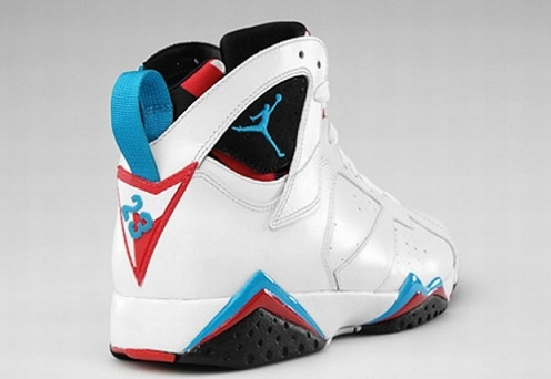 Release Reminder: Air Jordan Retro VII (7) White/Orion Blue-Black-Infrared