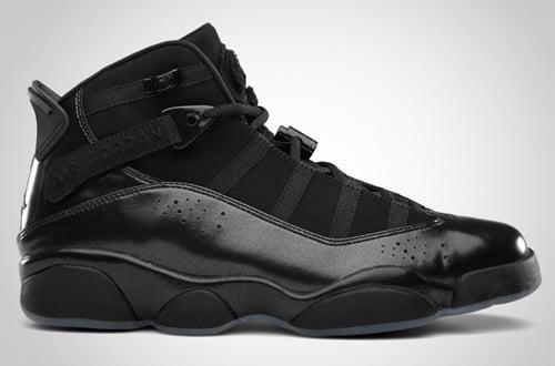 Release Reminder: Jordan 6 Rings Black/Dark Charcoal