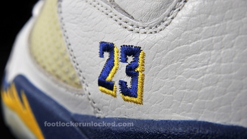 "Retros Sample - Air Jordan V (5) ""Laney"""