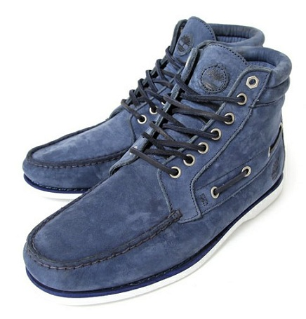 Timberland Authentic 7-Eye Boat Chukka - Blue & White