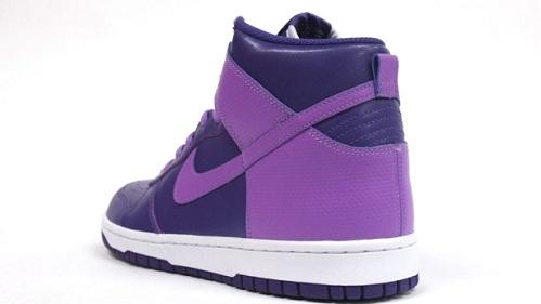 Women's Nike Dunk High - Purple/Purple-White